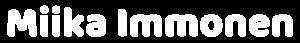 Miika Immonen Logo